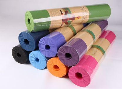 Изображение Коврик для йоги в комплекте с сумкой (Тайвань)